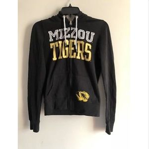 Victoria Secret PINK Mizzou Missouri Tigers Zip Up